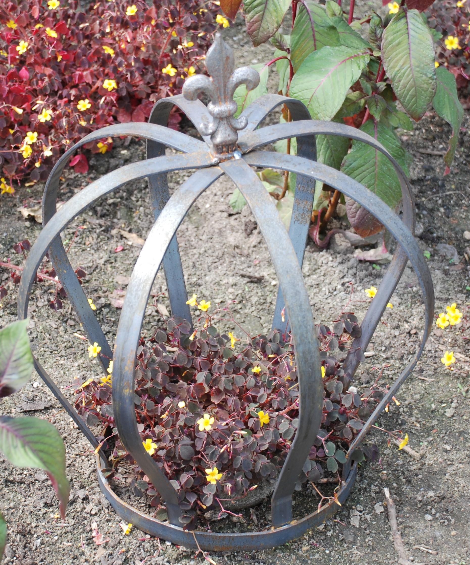 Gartenkrone Rohstahl
